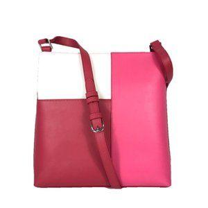 Vera Bradley Leather Color Block Tote & Wallet